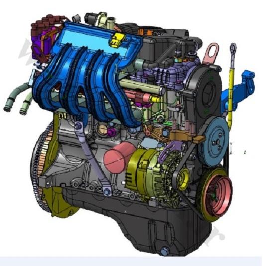 موتور پراید و میل لنگ پراید